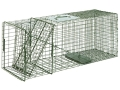Product detail of Duke #3 Single Door Cage Trap Steel Silver