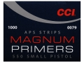 Product detail of CCI Small Pistol APS Magnum Primers Strip #550 Box of 1000 (40 Strips of 25)
