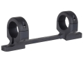 "Product detail of DNZ Products Game Reaper 1-Piece Scope Base with 1"" Integral Rings Weatherby Mark V Non-Magnum Matte Medium"