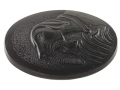 Product detail of Vintage Gun Grip Cap Remington with Dog Logo Polymer Black