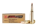 Product detail of Hornady LEVERevolution Ammunition 308 Marlin Express 160 Grain Flex Tip eXpanding Box of 20