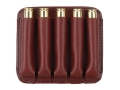 Product detail of Boyt Ammo Wallet Rifle Ammunition Carrier 5-Round 7mm Remington Magnum to 470 Nitro Express Leather Brown