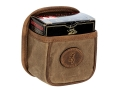 Product detail of Browning Santa Fe Shell Box Carrier with Metal Clip Waxed Cotton Canvas Tan