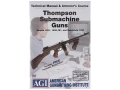 "Product detail of American Gunsmithing Institute (AGI) Technical Manual & Armorer's Course Video ""Thompson"" DVD"