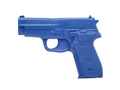 Product detail of BlueGuns Firearm Simulator Sig Sauer P228 Polyurethane Blue
