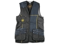 Product detail of Beretta Gold Shooting Vest Left Hand Cotton and Polyester Blend