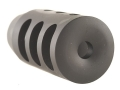 "Product detail of Holland's Quick Discharge Muzzle Brake 3/4""-28 Thread .775""-.850"" Barrel Tapered Chrome Moly"