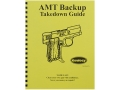 "Product detail of Radocy Takedown Guide ""AMT Backup"""