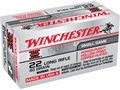 Product detail of Winchester Super-X High Velocity Ammunition 22 Long Rifle 40 Grain Lead Hollow Point Power-Point