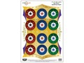 "Product detail of Birchwood Casey PREGAME Starburst Reactive Target 12"" x 18"" Package of 8"