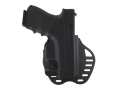 Product detail of Hogue PowerSpeed Concealed Carry Holster Outside the Waistband (OWB) Right Hand Glock 26, 27, 33, 37 Polymer Black