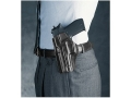 Product detail of Galco Concealed Carry Paddle Holster Left Hand H&K P2000, P2000SK Compact, USP Compact Leather Black