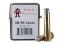 Product detail of Ten-X Cowboy Ammunition 45-70 Government Lever Action 405 Grain Flat ...