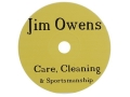"Product detail of Jim Owens ""Care, Cleaning and Sportsmanship"" CD-ROM"
