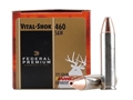 Product detail of Federal Premium Vital-Shok Ammunition 460 S&W Magnum 275 Grain Barnes XPB Hollow Point Lead-Free Box of 20