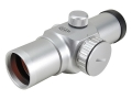 Product detail of ADCO Alpha Red Dot Sight 30mm Tube 1x 1.5 MOA Dot Silver