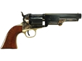 Product detail of Uberti 1851 Navy London Steel Frame Black Powder Revolver with Brass Triggerguard and Backstrap 36 Caliber Blue