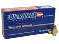 Product detail of Ultramax Remanufactured Ammunition 45 ACP 185 Grain Jacketed Hollow Point Box of 50