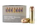 Product detail of Cor-Bon Hunter Ammunition 500 S&W Special 350 Grain Full Metal Jacket Box of 12