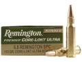 Product detail of Remington Premier Ammunition 6.8mm Remington SPC 115 Grain Core-Lokt Ultra Bonded Pointed Soft Point Box of 20