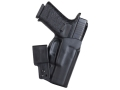 "Product detail of Blade-Tech Ultimate Concealment Inside the Waistband Tuckable Holster Right Hand with 1-1/2"" Belt Loop Kahr CW45 Kydex Black"