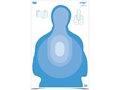 "Product detail of Birchwood Casey Eze-Scorer Transitional Silhouette Blue Targets 23"" x 35"" Package of 5"