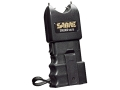 Product detail of Sabre 300,000 Volt Stun Gun uses Two 9 Volt Batteries (Not Included) Polymer Black