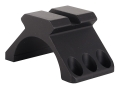 Product detail of Weaver 30mm Tactical 6-Hole Ring Top with Picatinny-Style Accessory Rail Matte
