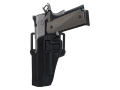 Product detail of BlackHawk CQC Serpa Holster Left Hand Beretta 92, 96 Polymer Carbon Fiber Black