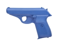 Product detail of BlueGuns Firearm Simulator Sig Sauer P230 Polyurethane Blue