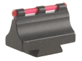 "Product detail of Williams Fire Sight Rifle Bead .538"" Height, .340"" Width Steel Blue 3/32"" Fiber Optic Red"