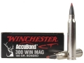 Product detail of Winchester Supreme Ammunition 300 Winchester Magnum 180 Grain Nosler AccuBond