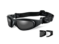 Product detail of Wiley X SG-1 Tactical Goggles with Top Down Ventilation Clear, Smoke Lenses