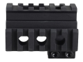 Product detail of Yankee Hill Machine Picatinny 3-Rail Front Sight Mount AR-15 Aluminum Matte