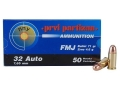 Product detail of Prvi Partizan Ammunition 32 ACP 71 Grain Full Metal Jacket Box of 50