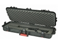 "Product detail of Plano AW All Weather Series 36"" Tactical Rifle Gun Case Polymer Black and Red"