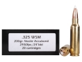 Product detail of Doubletap Ammunition 325 Winchester Short Magnum (WSM) 200 Grain AccuBond Spitzer Box of 20