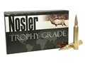 Thumbnail Image: Product detail of Nosler Trophy Grade Ammunition 300 Weatherby Magn...