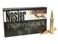 Product detail of Nosler Trophy Grade Ammunition 300 Weatherby Magnum 210 Grain AccuBond Long Range Box of 20