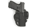 "Product detail of Front Line BFL Belt Holster Right Hand Springfield XD 9/40 Service 4"" Suede Lined Kydex Black"