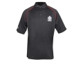 Product detail of Springfield Armory Crossed Cannons Polo Shirt Short Sleeve Synthetic Blend