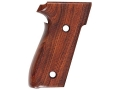 Product detail of Hogue Fancy Hardwood Grips Sig Sauer P228, P229 Checkered Cocobolo