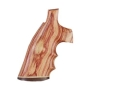 Product detail of Hogue Fancy Hardwood Grips with Accent Stripe, Finger Grooves and Contrasting Butt Cap Colt Detective Special
