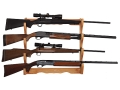 Product detail of Allen Wall Display 4-Gun Rack Wood