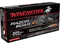 Product detail of Winchester Razorback XT Ammunition 223 Remington 64 Grain Hollow Poin...