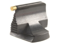 "Product detail of Williams Front Sight .500"" Height .531"" Width Steel Blue 1/16"" Gold Bead Steel Black"