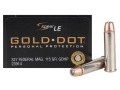 Product detail of Speer Gold Dot Ammunition 327 Federal Magnum 115 Grain Jacketed Hollow Point Box of 20