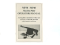 "Product detail of ""MP38 - MP40 Machine Pistol Operators Manual"" Book by Frank Iannamico"