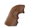 Thumbnail Image: Product detail of Hogue Fancy Hardwood Grips with Finger Grooves Ru...