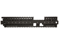 Product detail of Daniel Defense Lite Rail 12.0 FSP Free Float Tube Handguard Quad Rail AR-15 Extended Carbine Length Aluminum Black